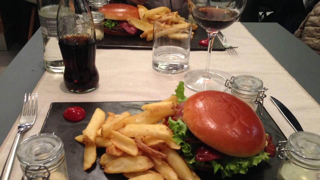 Single burger corso como